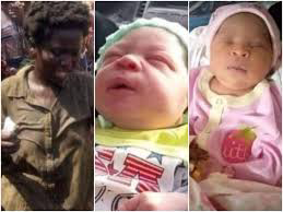 Delta State: madwoman gave birth to twins in Ughelli