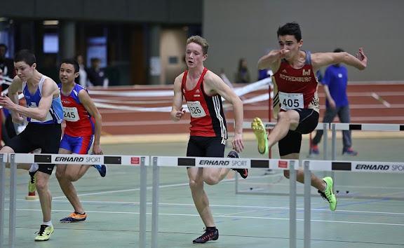 Hallen Nachwuchs Schweizermeisterschaften in St. Gallen