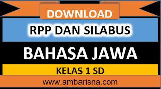 Download Silabus dan RPP 1 Lembar Bahasa Jawa Kelas 1 SD Revisi Terbaru Kurikulum 2013