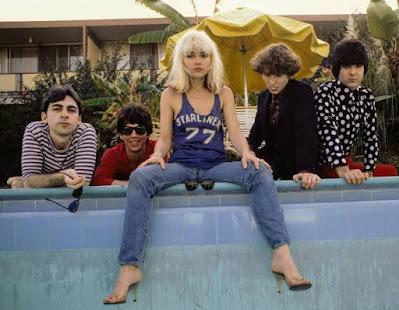 Blondie 1977 Debby Harry pioneered Levi's and designer pieces in Punk