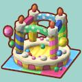 ケーキのボールプール