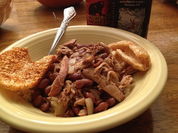 Penzeys Nicaraguan Style Red Beans With Pulled Chicken Marie Let S Eat