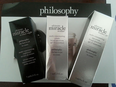 philosophy's new! ultimate miracle worker collection #smiley360