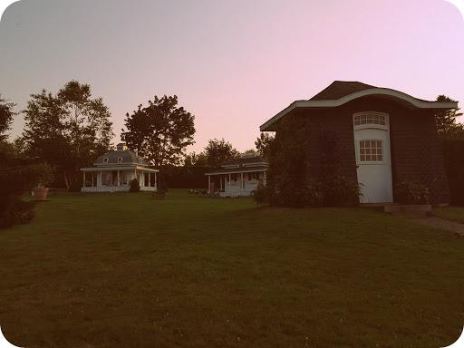 Small playhouses for kids - from Kingsbrae Garden, New Brunswick