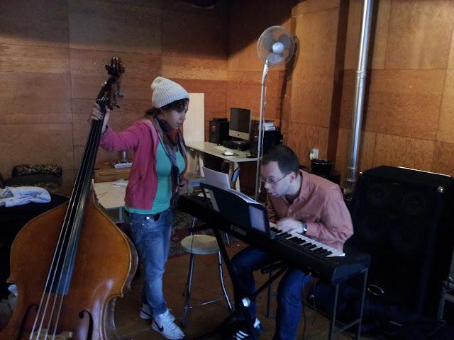 Latin4 at rehearsal