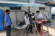 Rektor Unismuh Prof Ambo Asse Terima  Tim Perancang Observatorium Unismuh Makassar