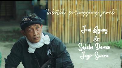 """Lirik Lagu Bali """"Joni Agung ft Sekehe Demen Jagir Swara - Bebotoh Bertanggung Jawab"""" + Video Clip"""