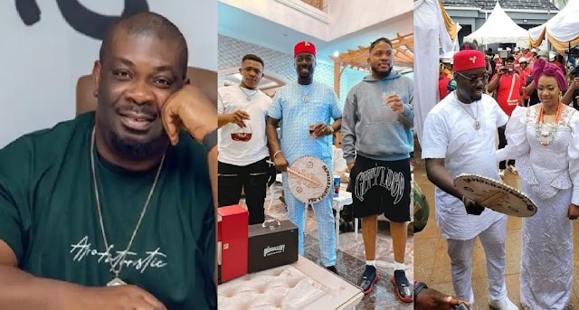 How Don Jazzy And His billionaire Friends That Couldn't Make It To Oba Had Their Own Private Caucus [Video]