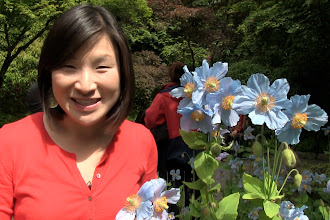Photo: Jules in the Butchart Gardens http://ow.ly/caYpY