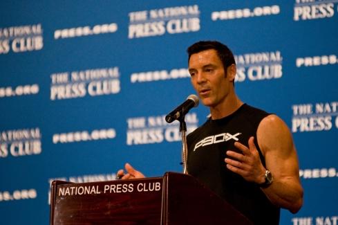 Tony Horton Speach In National Press Club, Tony Horton