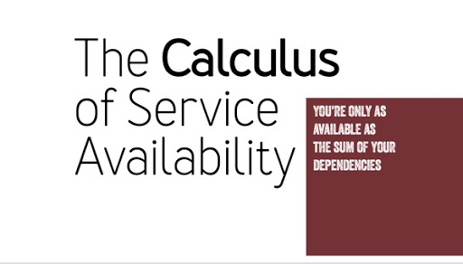 The Calculus of Service Availability