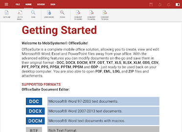 OfficeSuite + PDF Editor Screenshot 12