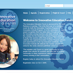 Projeto: Innovative Education Fórum