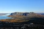 MONTAGNE DE BONHEUR   Paysage de Laponie suédoise, dans les Alpes scandinaves, Parc National de Stoa Sjofallet