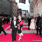 WWW.ENTSIMAGES.COM -   David Suchet and Sheila Ferris   at      The Olivier Awards at Royal Opera House, Covent Garden, London, April 28th 2013                                               Photo Mobis Photos/OIC 0203 174 1069