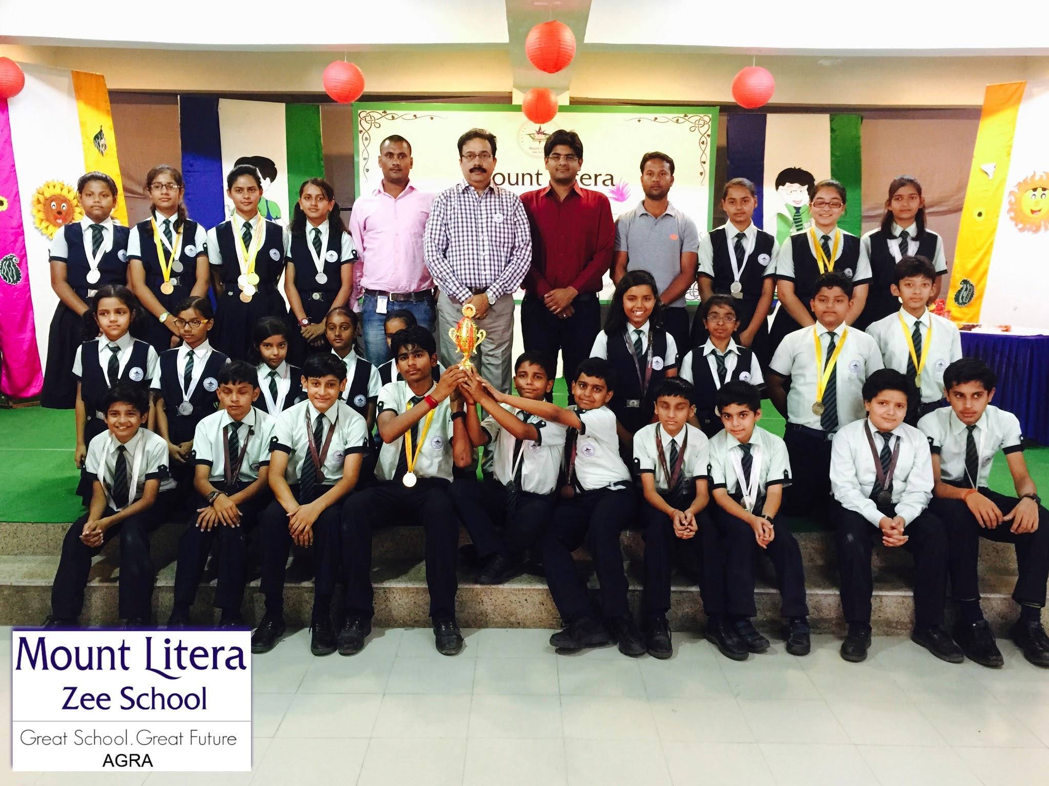 2nd District Student Olympic Association Mount Litera Zee School