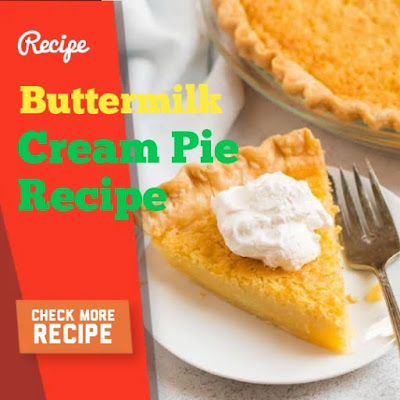 Buttermilk Cream Pie