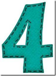 4 letras verdes