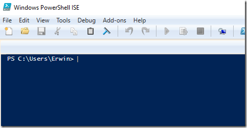 Yet Another Math Programming Consultant: PowerShell