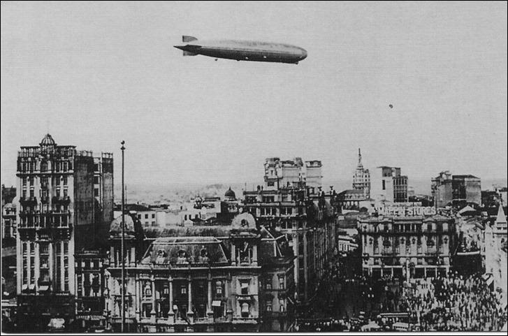 Sao-Paulo-Graf-Zeppelin-em-1934