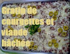 recette du gratin de courgettes a la viande hachee