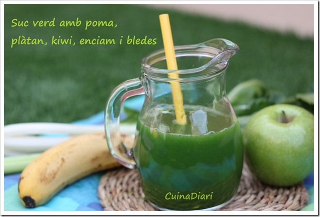 7-Sucs verds cuinadiari-poma platan kiwi-ppal