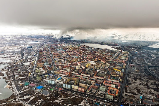 The Depressing Industrial City of Norilsk | Amusing Planet