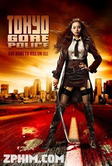 Nữ Cảnh Sát Đẫm Máu - Tokyo Gore Police (2008) Poster