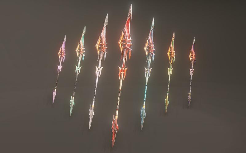 Ngắm vũ khí sắp trình làng của ArcheAge 1.0 - Ảnh 19