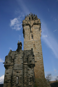 The tower of Wallace's Monument