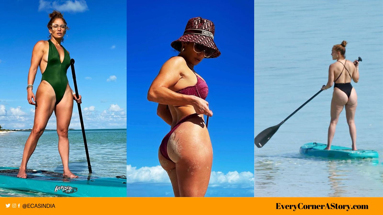 jennifer lopez hot bikini photo skimpy swimsuit every corner a story jlo beach