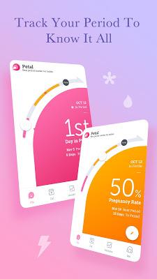 Period Tracker Petal, Period & Ovulation Calendar - screenshot