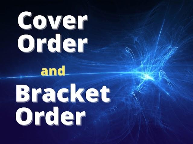 Cover order and Bracket order