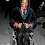 WWW.ENTSIMAGES.COM -     Ade Adepitan   at     RTS Programme Awards  Grosvenor House Hotel Park Lane London March 19th 2013                                                  Photo Mobis Photos/OIC 0203 174 1069