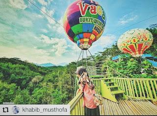 balon udara spot foto