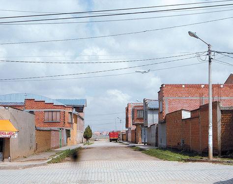 Luis Espinal Camps: zona de Distrito 3 de El Alto