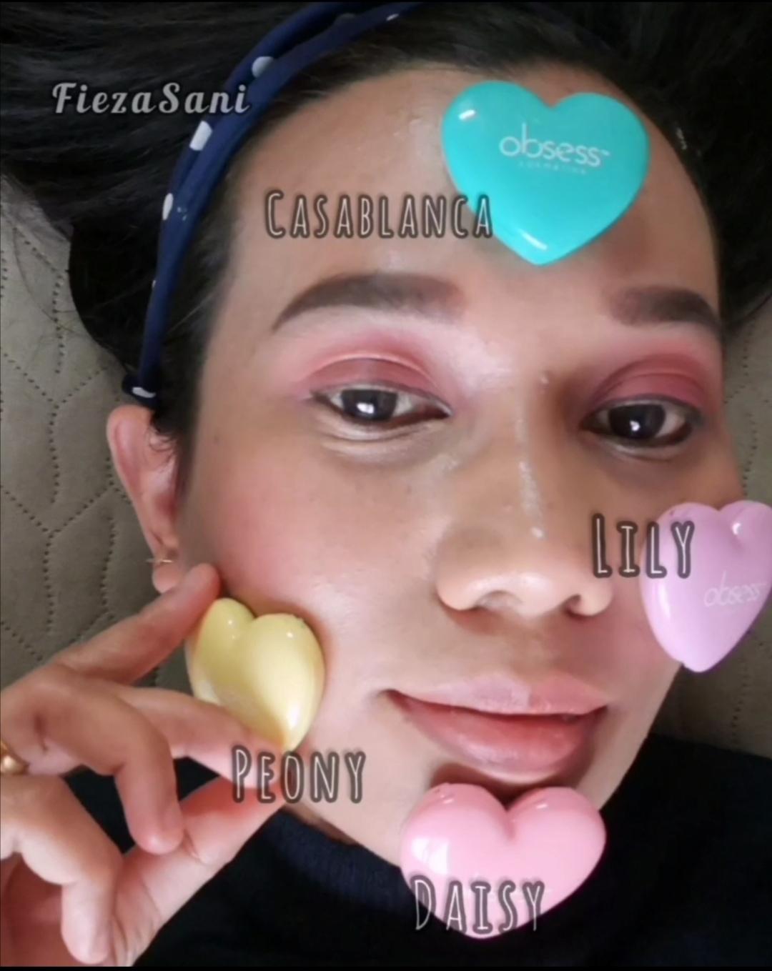 barang mekap, obsess cosmetic blusher, kelebihan blusher obsess, harga blusher obsess,
