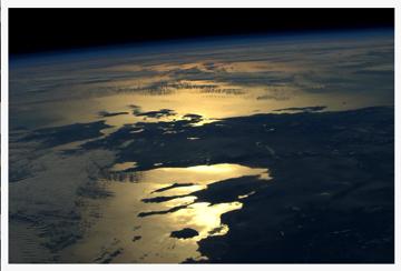 Greece, pic by Astronaut Sam Cristoforetti