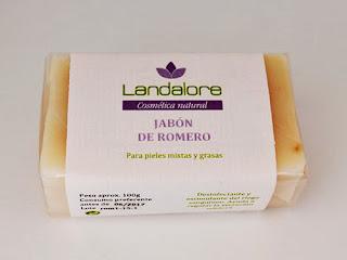 Jabón Natural de Romero Landalore