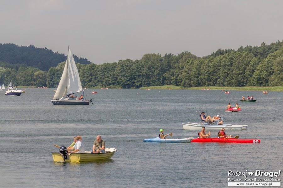 Niebieska Warmia - sporty wodne nad jeziorem Ukiel w Olsztynie