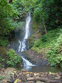 Waterfall in Koolau mountains