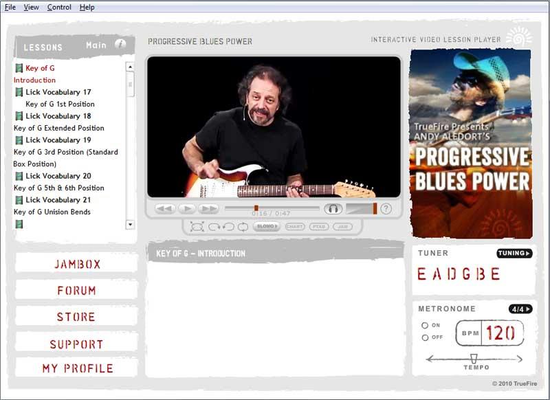 Andy Aledort - Progressive Blues Power preview