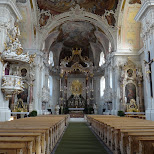 inside the basilika wilten in innsbruck in Innsbruck, Tirol, Austria