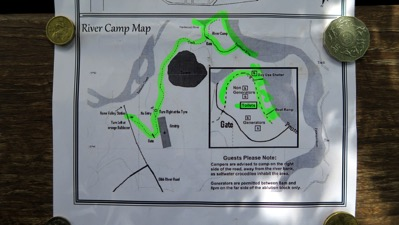River Camp Map