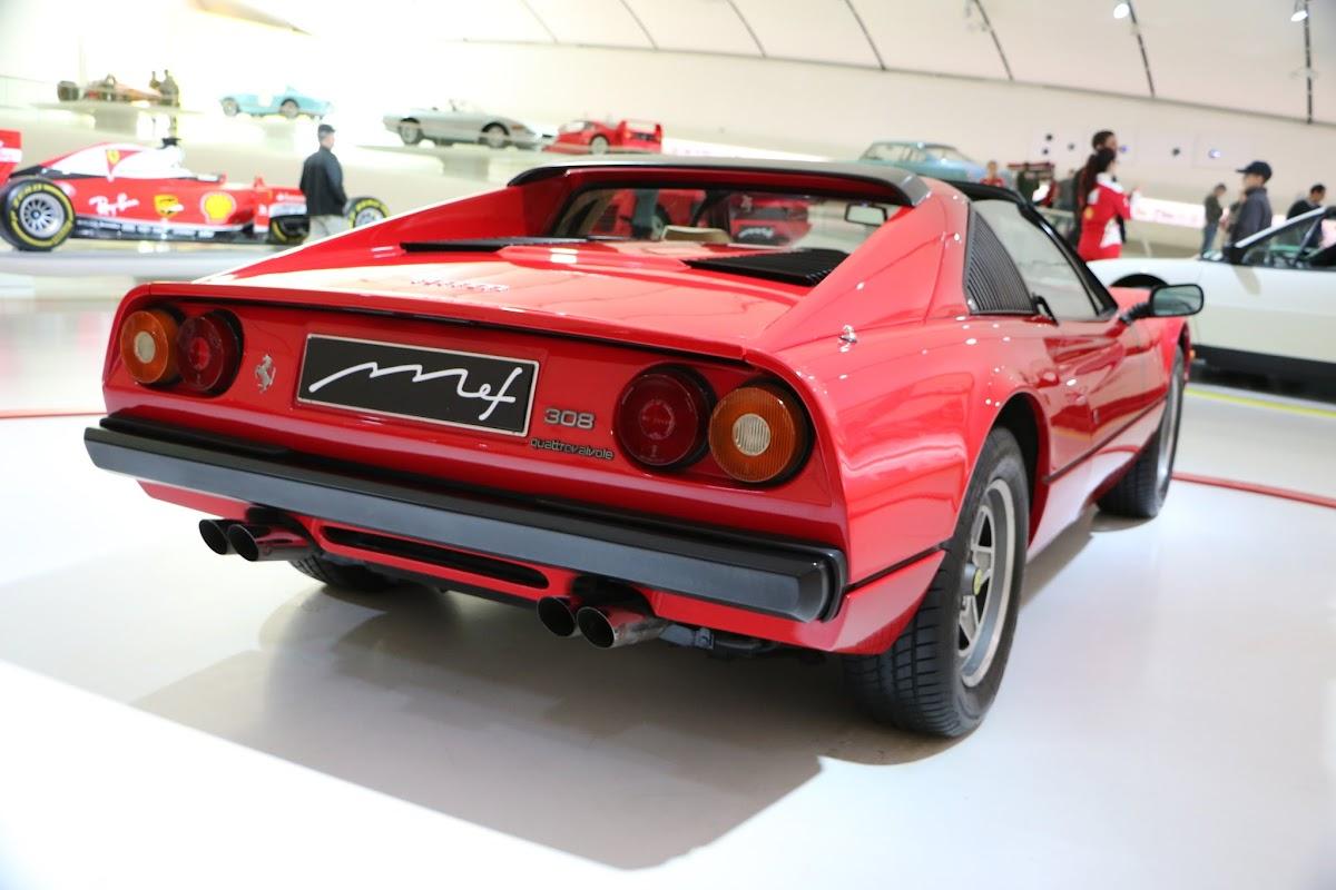 Modena - Enzo Museum 0062 - 1977 Ferrari 308 GTS.jpg