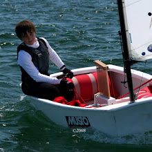 Optimist aprilmay Final Race (Paul Keal)