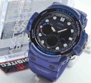 jam tangan Digitec 2092 blue