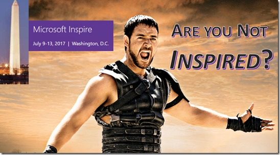 Inspired (Microsoft - Gladiator)