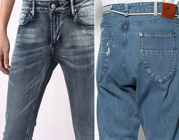 Enzyme washed denim & Bio washed denim