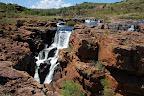Her hvor Treur River løber sammen med Blyde River starter Blyde River Canyon.